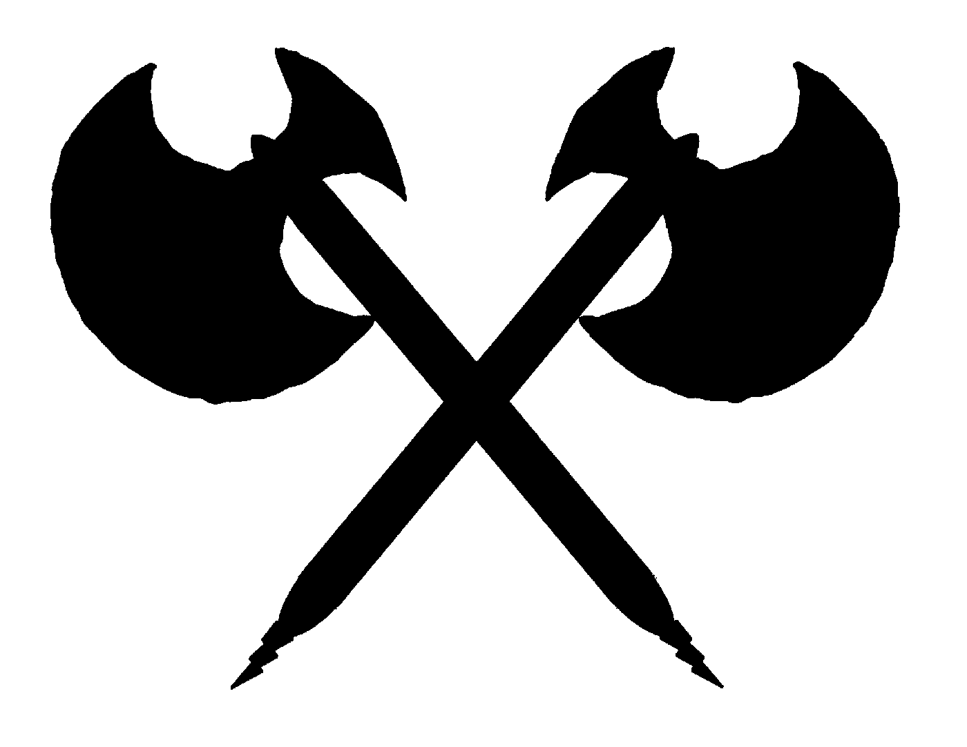 double battle axe logo
